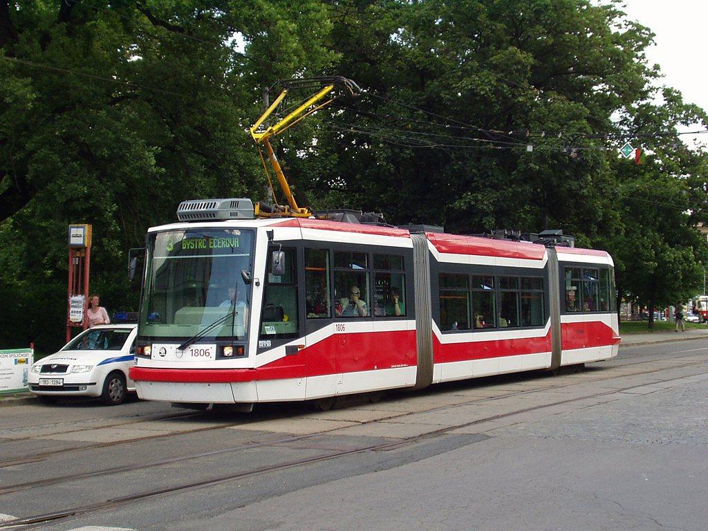 Fotogalerie » Škoda 03T6 1806   Brno   střed   Moravské náměstí