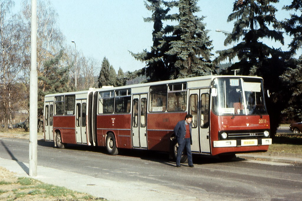 Fotogalerie » Ikarus 280.12 2058   Brno   Řečkovice   Karásek