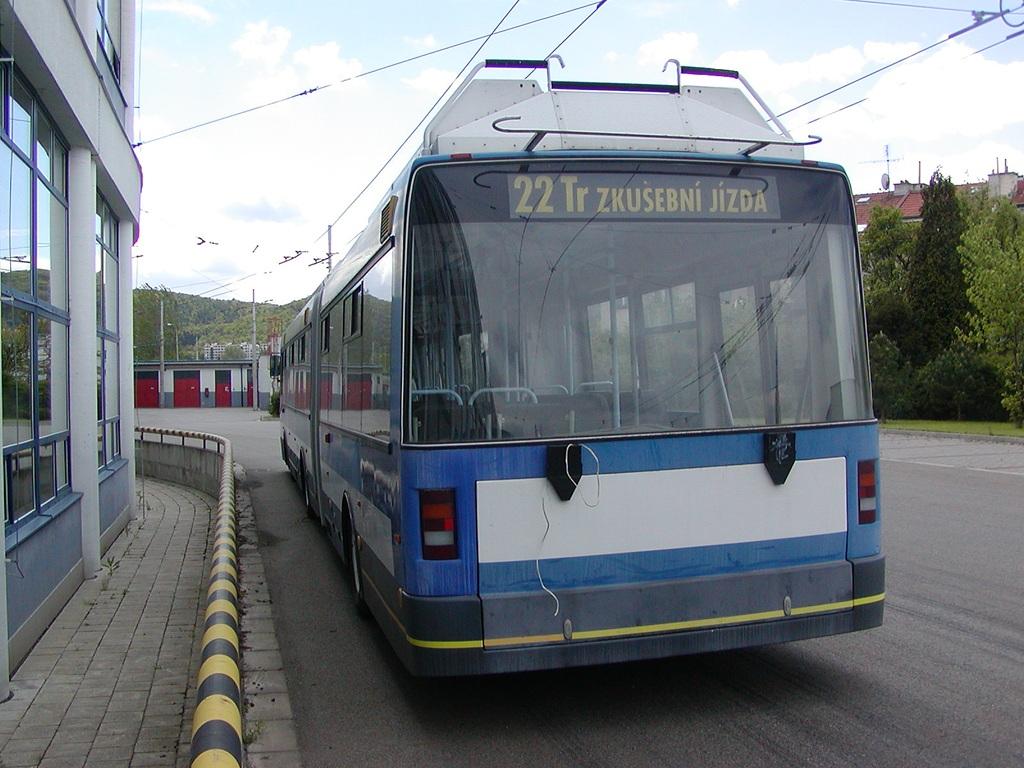Fotogalerie » Škoda 22TrG - | Brno | Komín | vozovna Komín