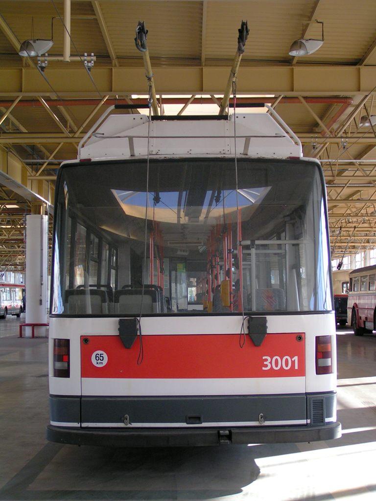 Fotogalerie » Škoda 21Tr 3001 | Brno | Komín | vozovna Komín
