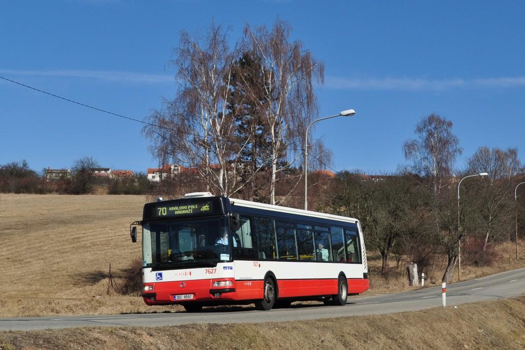 Fotogalerie » Irisbus Citybus 12M 2071.40 3B2 8597 7627 | Brno | Ořešín | Klimešova