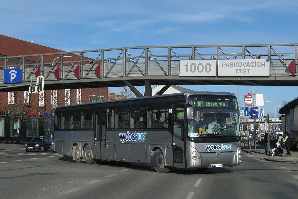 Fotogalerie » Irisbus Ares 15M 3B0 8393 | Brno | Trnitá | Trnitá | Autobusové nádraží Zvonařka