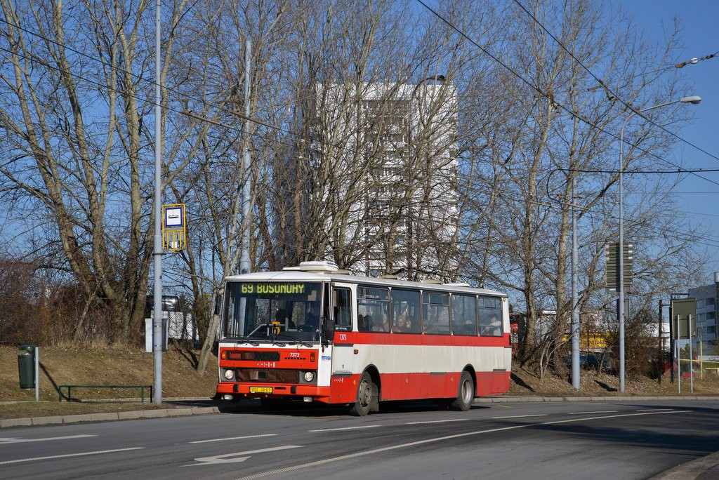 Fotogalerie » Karosa B732.1654.3 BSC 38-61 7373 | Brno | Starý Lískovec | Osová | Pod Nemocnicí