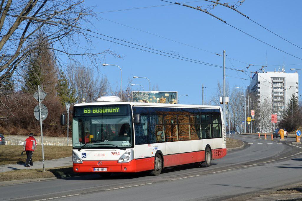 Fotogalerie » Irisbus Citelis 12M 6B6 6854 7654 | Brno | Starý Lískovec | Osová