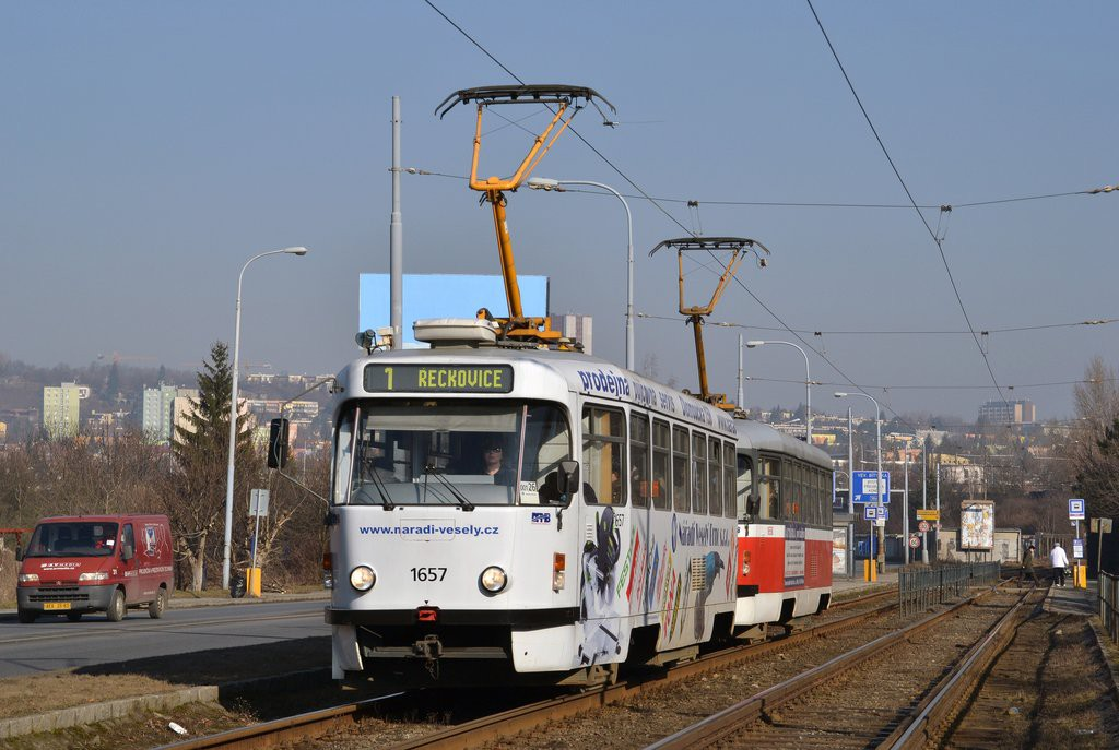 Fotogalerie » Pragoimex T3R.PV 1657 | Pragoimex T3R.PV 1658 | Brno | Žabovřesky | Žabovřeská | Bráfova