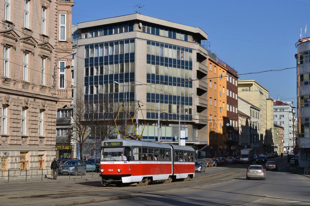 Fotogalerie » ČKD Tatra K2T 1044 | Brno | střed | Milady Horákové