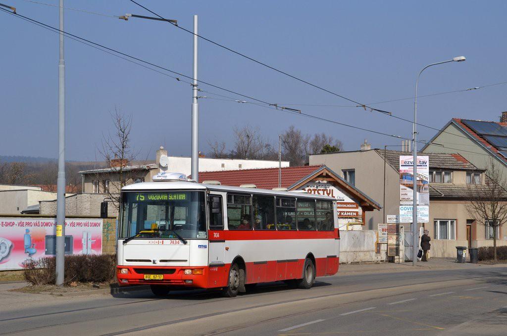 Fotogalerie » Karosa B931.1675 BSE 67-17 7434 | Brno | Maloměřice | Obřanská
