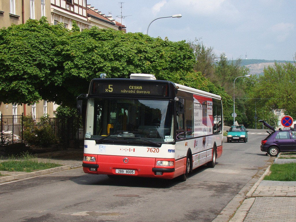 Fotogalerie » Irisbus Citybus 12M 2071.40 2B9 8005 7620 | Brno | Černá Pole | Sýpka
