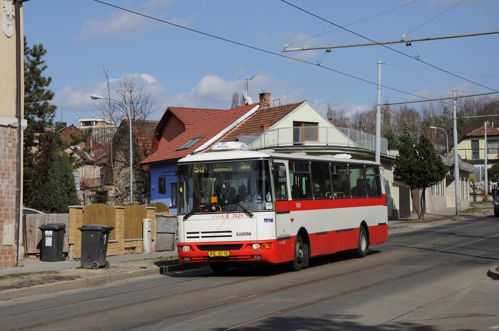 Fotogalerie » Karosa B931.1675 BSE 67-12 7429 | Brno | Židenice | Líšeňská