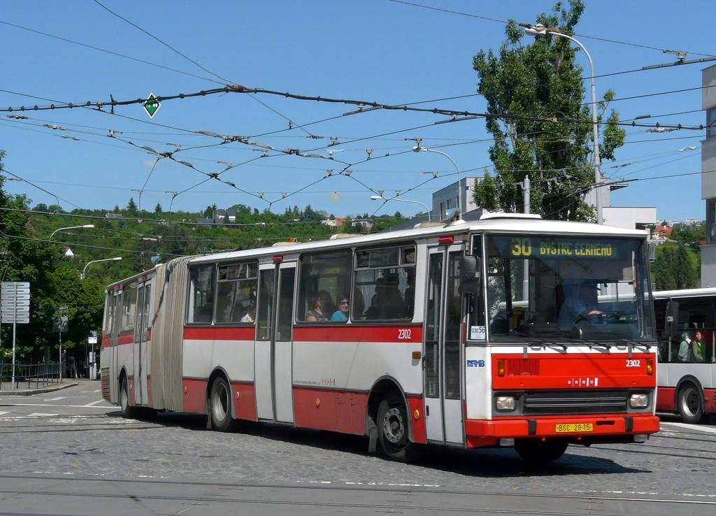 Fotogalerie » Karosa B741.1916 BSC 29-15 2302 | Brno | Královo Pole | Kosmova