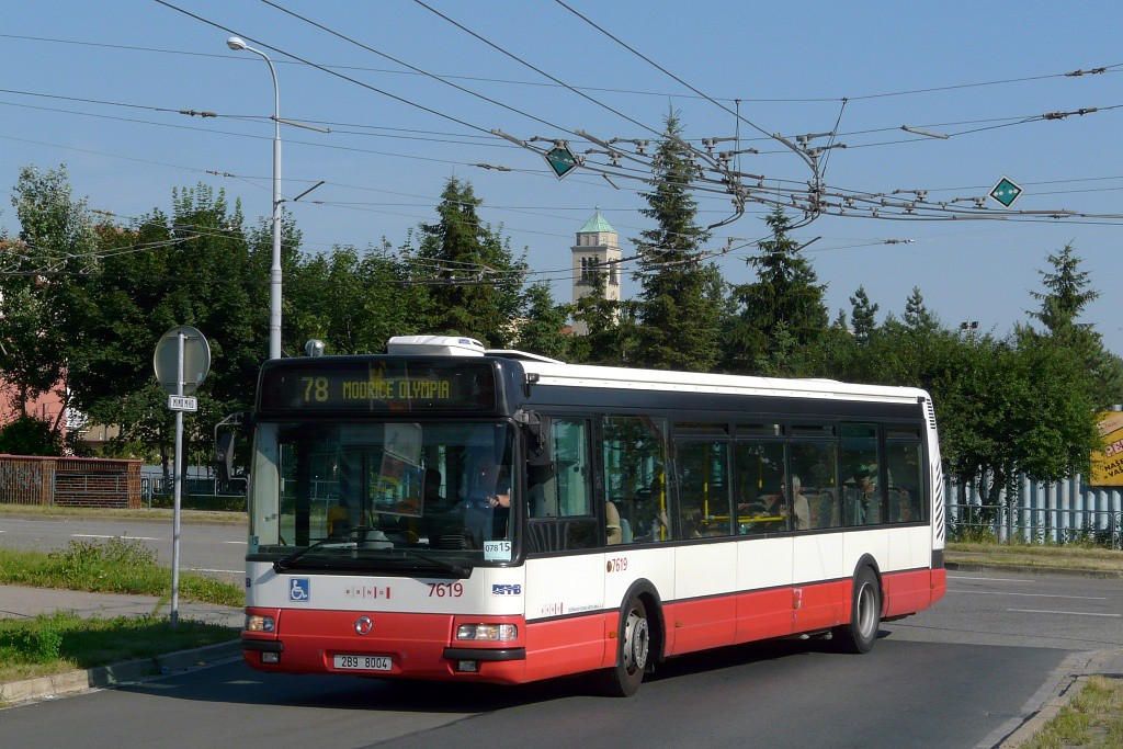 Fotogalerie » Irisbus Citybus 12M 2071.40 2B9 8004 7619   Brno   Židenice   Stará Osada