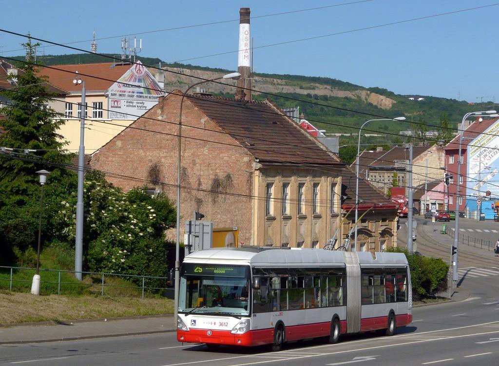 Fotogalerie » Škoda 25Tr Citelis 1B 3612 | Brno | Husovice | Provazníkova