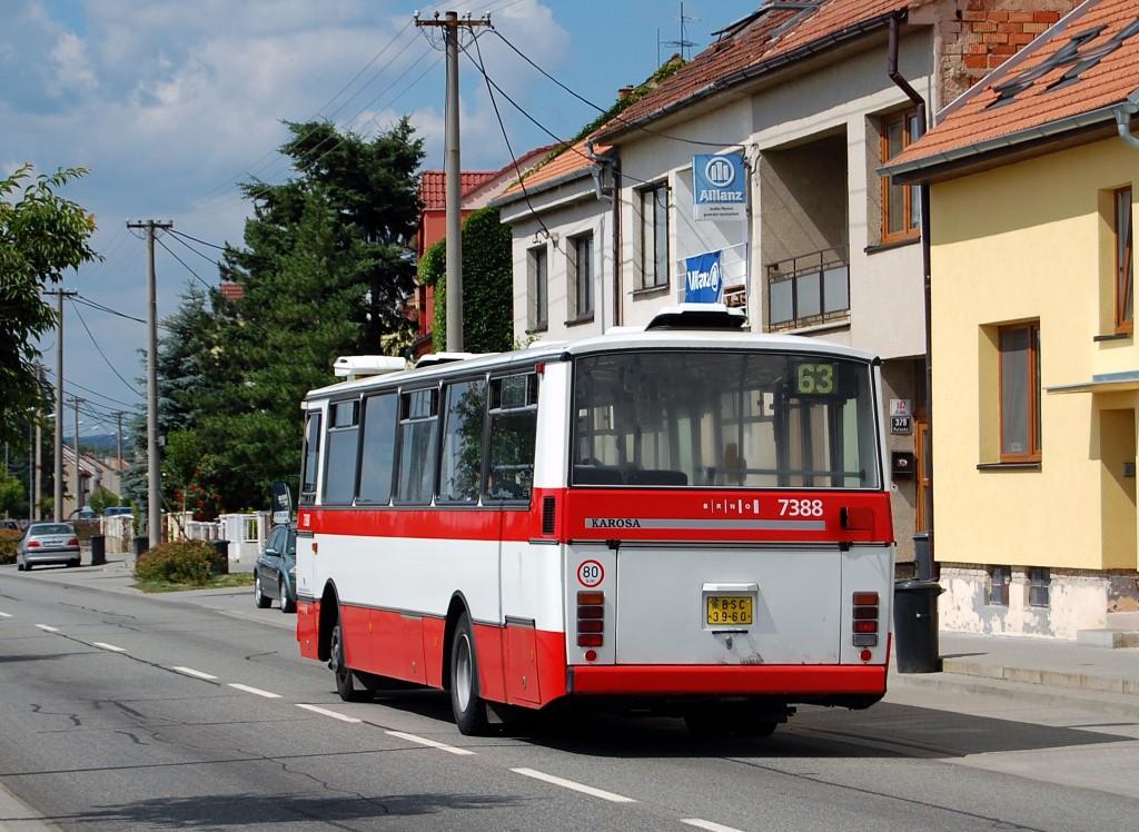 Fotogalerie » Karosa B732.1654.3 BSC 39-60 7388 | Brno | Holásky | V Aleji