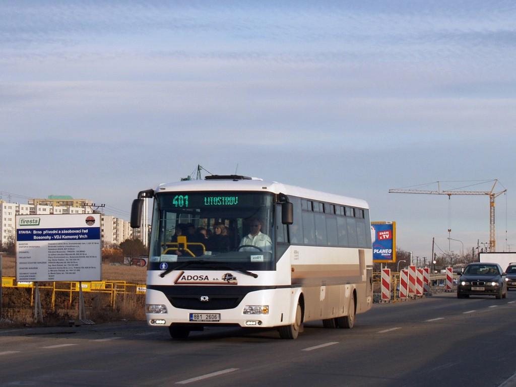 Fotogalerie » SOR C 12 8B1 2606 | Brno | Bosonohy | Pražská
