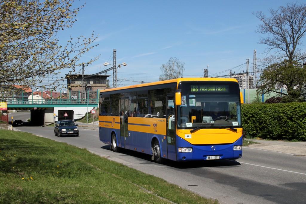 Fotogalerie » Irisbus Crossway 12M 5B1 1287 | Břeclav | Bratislavská | BORS