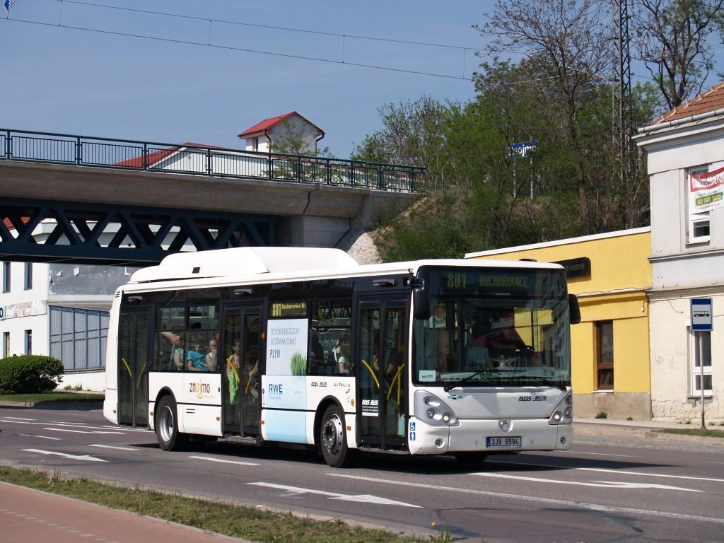 Fotogalerie » Irisbus Citelis 12M CNG 3J9 6594 | Znojmo | Vídeňská třída