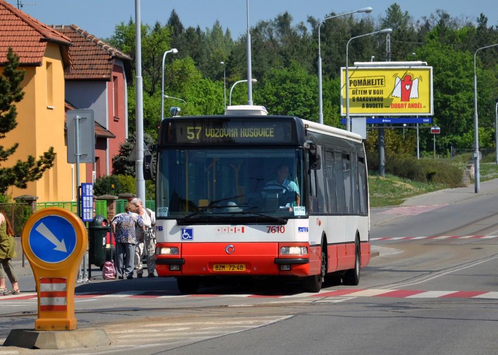 Fotogalerie » Irisbus Citybus 12M 2071.20 BZM 72-40 7610 | Brno | Černá Pole | Merhautova | Štefánikova čtvrť