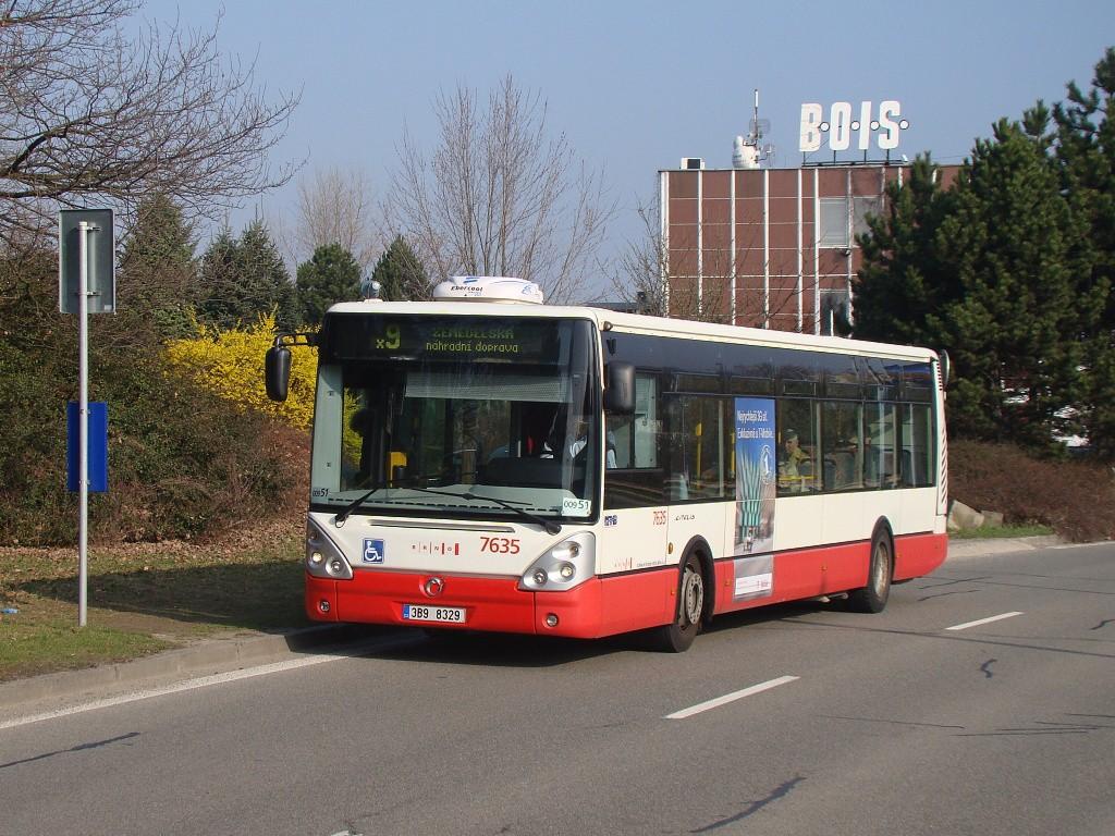 Fotogalerie » Irisbus Citelis 12M 3B9 8329 7635 | Brno | Černá pole | třída Generála Píky | Bieblova