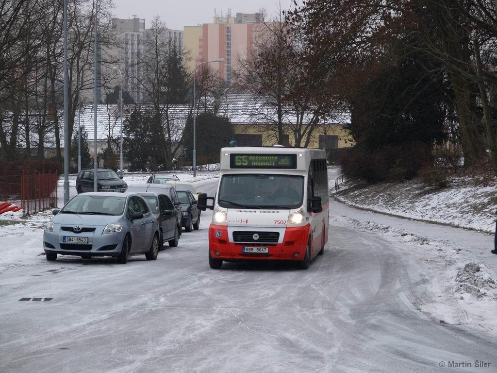 Fotogalerie » MAVE-Fiat CiBus ENA MAXI 6B8 8647 7502 | Brno | Řečkovice | Palackého náměstí