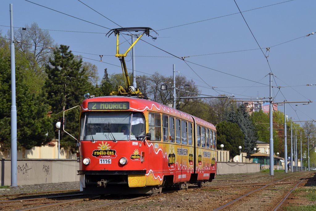 Fotogalerie » ČKD Tatra K2P 1116 | Brno | Horní Heršpice | Vídeňská