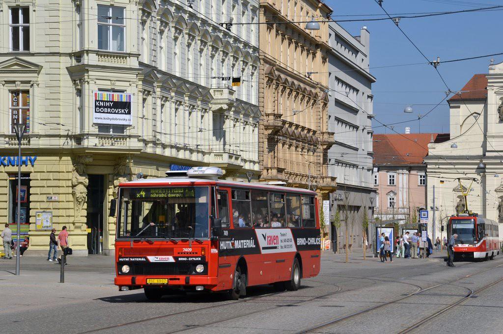 Fotogalerie » Karosa B731.1669 BSC 69-07 7409   Brno   střed   Joštova