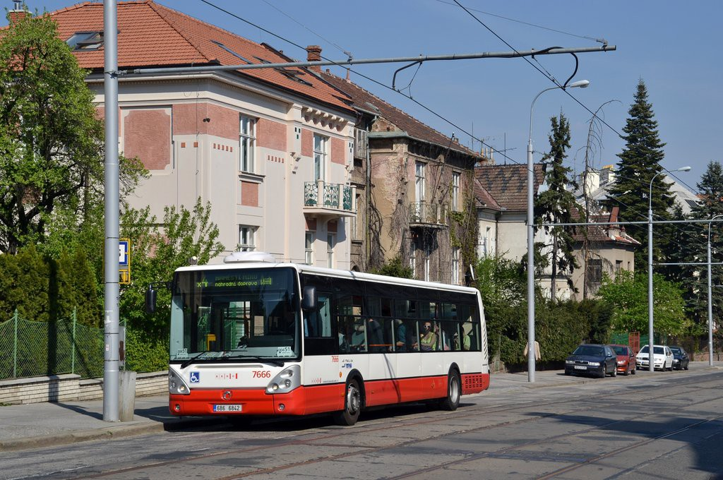 Fotogalerie » Irisbus Citelis 12M 6B6 6842 7666 | Brno | střed | Údolní | Všetičkova