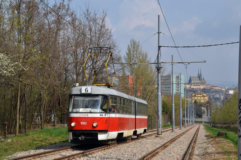 Fotogalerie » ČKD Tatra K2 1082 | Brno | Štýřice
