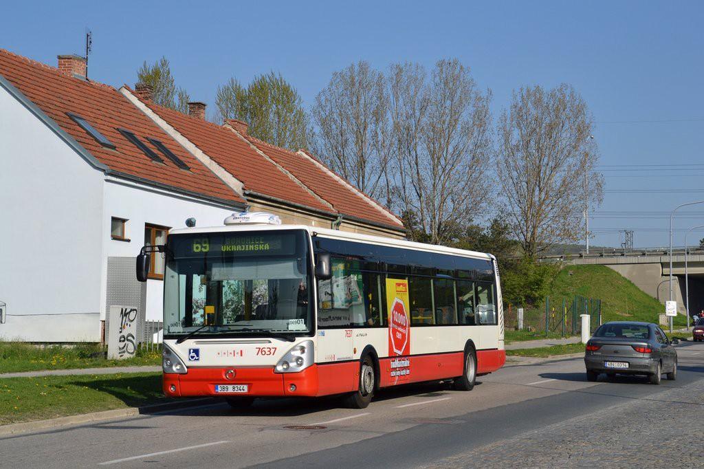 Fotogalerie » Irisbus Citelis 12M 3B9 8344 7637 | Brno | Starý Lískovec | Jemelkova
