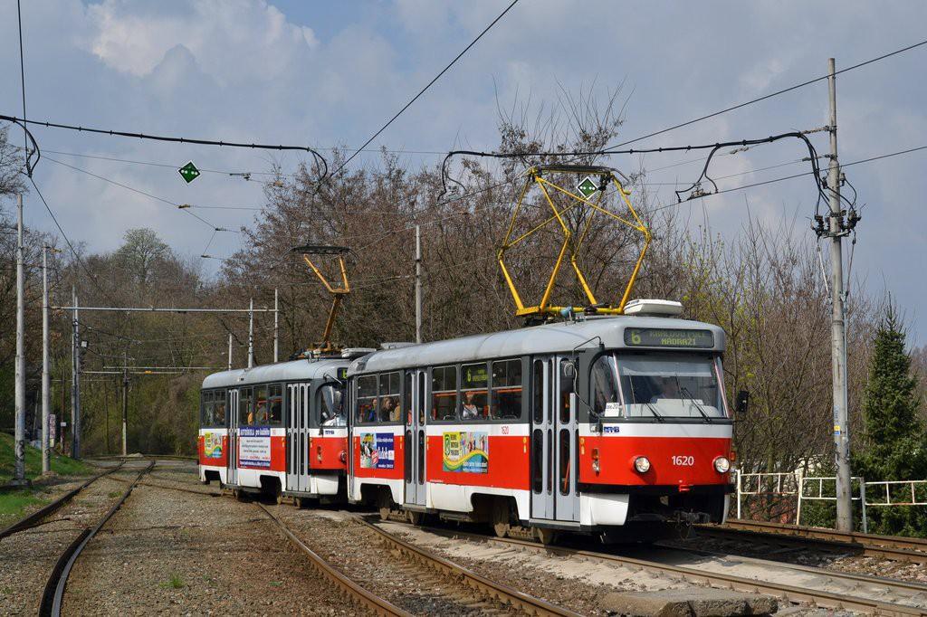Fotogalerie » ČKD Tatra T3P 1620 | Pragoimex T3R.PV 1658 | Brno | Štýřice