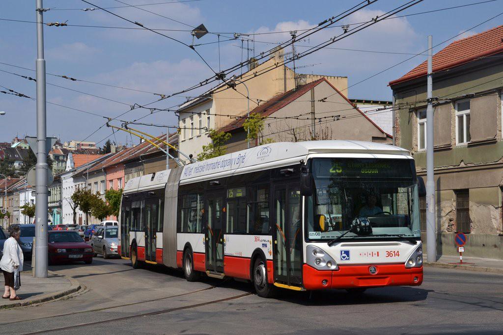 Fotogalerie » Škoda 25Tr Citelis 1B 3614   Brno   Husovice   Svitavská