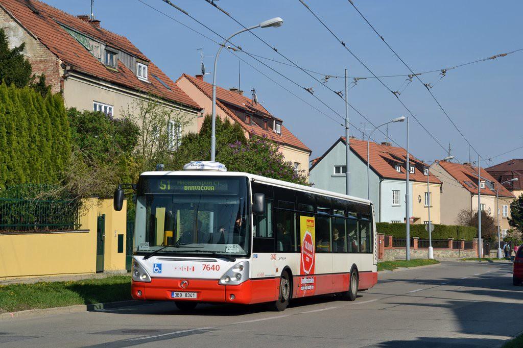 Fotogalerie » Irisbus Citelis 12M 3B9 8341 7640 | Brno | Masarykova čtvrť | Barvičova