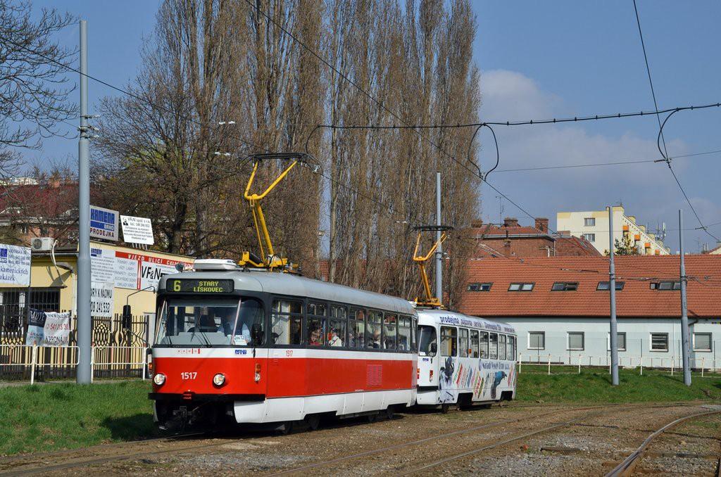 Fotogalerie » Pragoimex T3R.PV 1517 | Pragoimex T3R.PV 1657 | Brno | Štýřice | Vídeňská