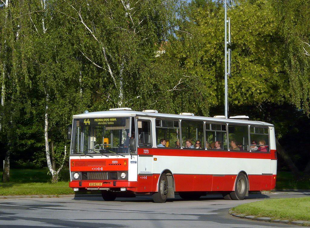 Fotogalerie » Karosa B732.40 BSB 62-30 7273   Brno   Lesná   Okružní