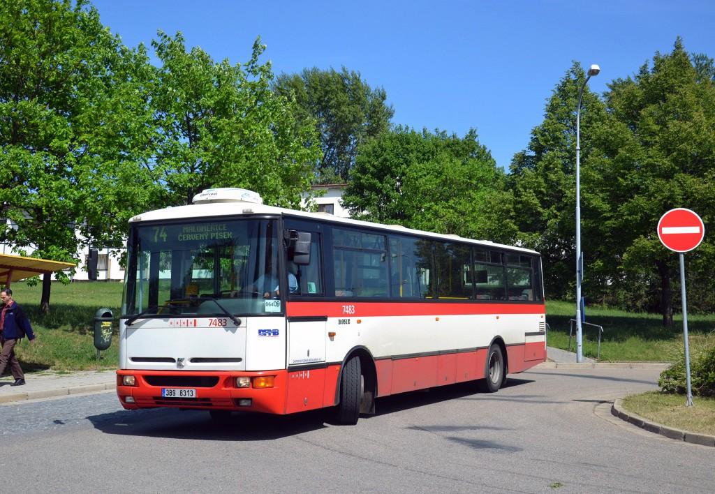 Fotogalerie » Karosa B951E.1713 3B9 8313 7483 | Brno | Maloměřice | Podzimní | Podzimní