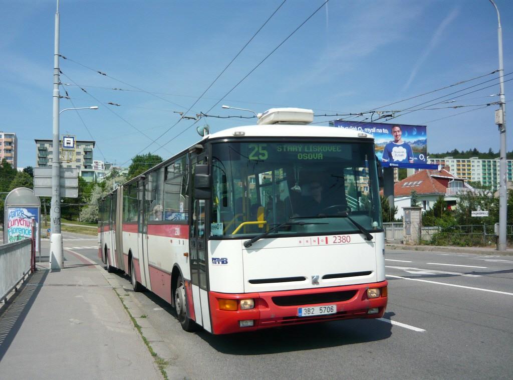 Fotogalerie » Karosa B961E.1970 3B2 5706 2380 | Brno | Bohunice | Kamenice | Čtvrtě