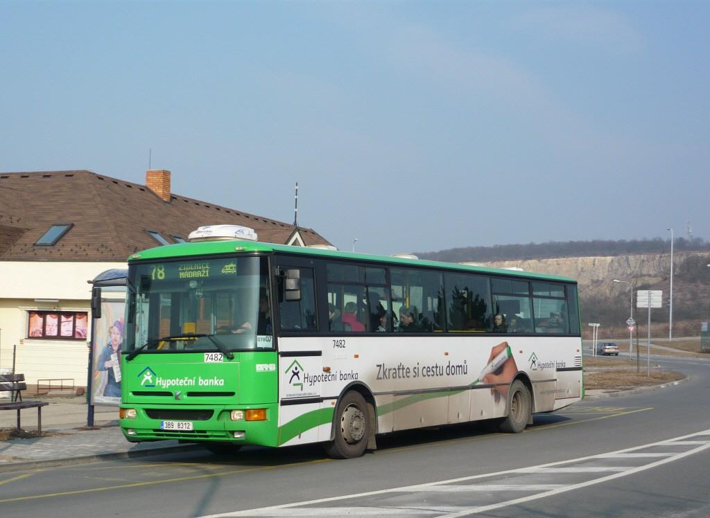 Fotogalerie » Karosa B951E.1713 3B9 8312 7482 | Brno | Líšeň | Podruhova | Horníkova