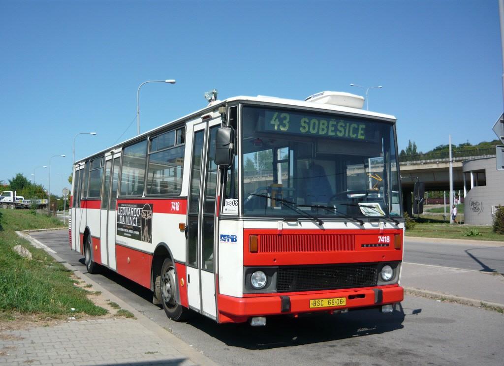 Fotogalerie » Karosa B731.1669 BSC 69-06 7418 | Brno | Královo Pole | Královo Pole, nádraží