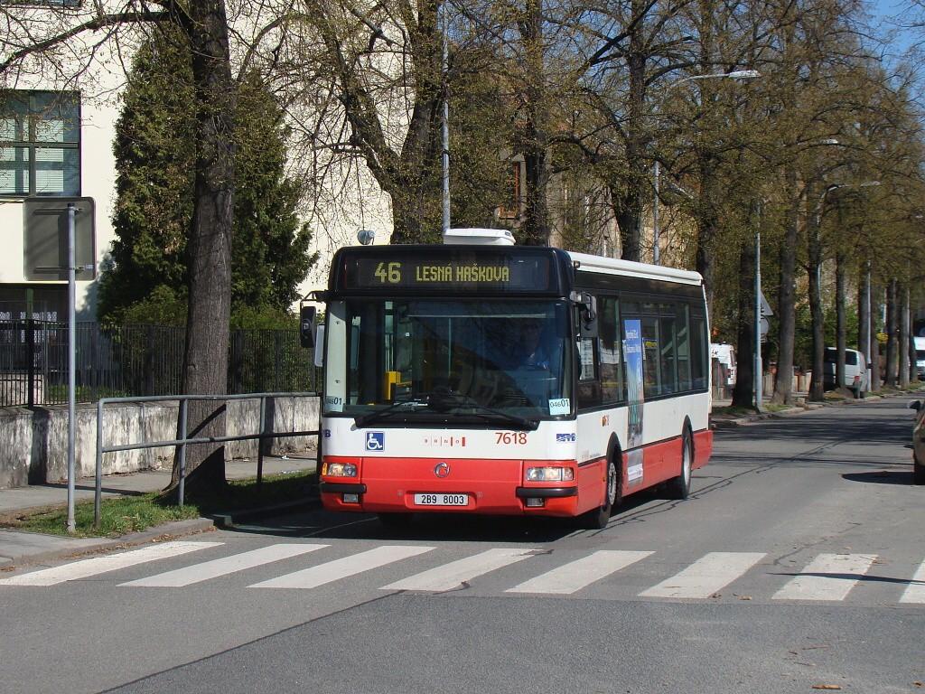 Fotogalerie » Irisbus Citybus 12M 2071.40 2B9 8003 7618   Brno   Černá Pole   Jugoslávská