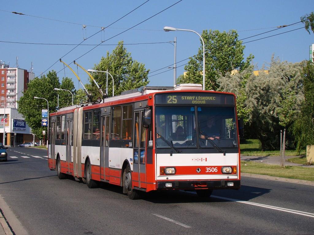 Fotogalerie » Škoda 15TrM 3506 | Brno | Vinohrady | Bzenecká