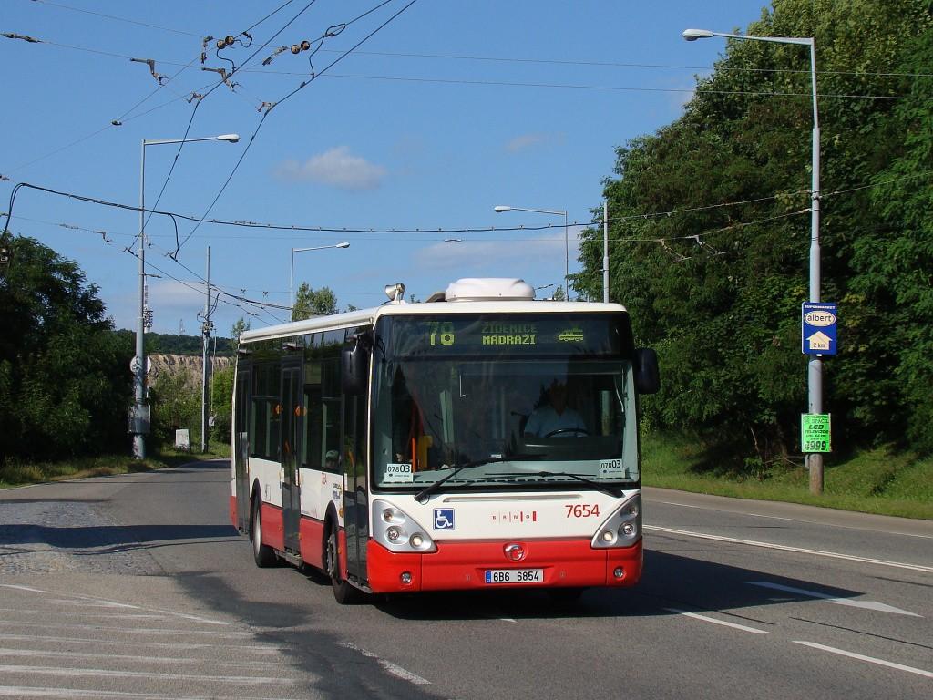Fotogalerie » Irisbus Citelis 12M 6B6 6854 7654 | Brno | Židenice | Rokytova