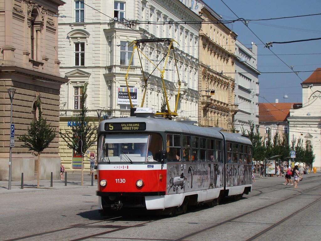Fotogalerie » ČKD Tatra K2YU 1130 | Brno | střed | Joštova