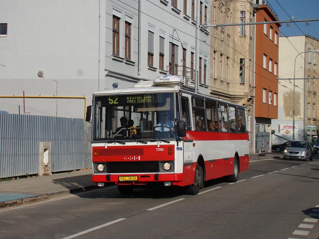 Fotogalerie » Karosa B732.1654.3 BSC 38-99 7396 | Brno | Pisárky | Hlinky