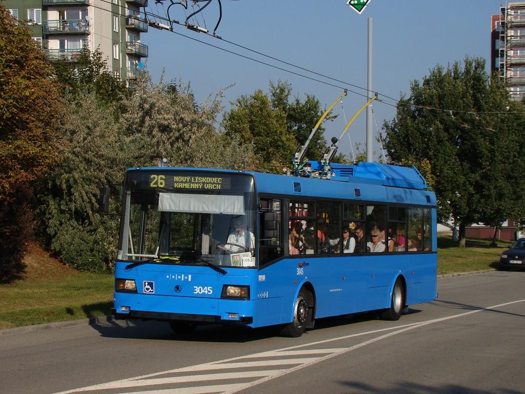 Fotogalerie » Škoda 21Tr 3045 | Brno | Vinohrady | Věstonická
