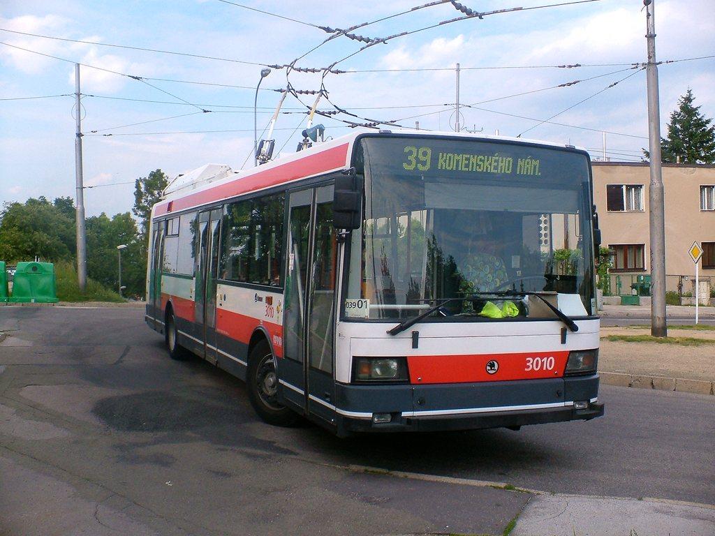 Fotogalerie » Škoda 21Tr 3010   Brno   Masarykova čtvrť   Barvičova   Barvičova