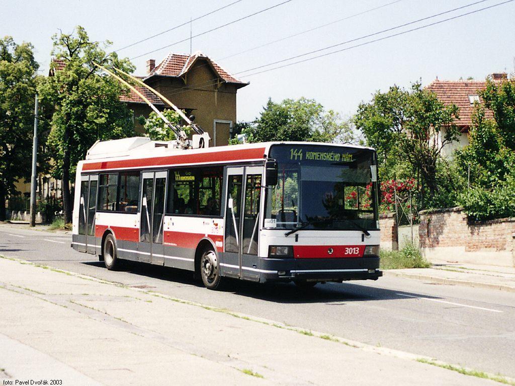 Fotogalerie » Škoda 21Tr 3013   Brno   Masarykova čtvrť   Tvrdého