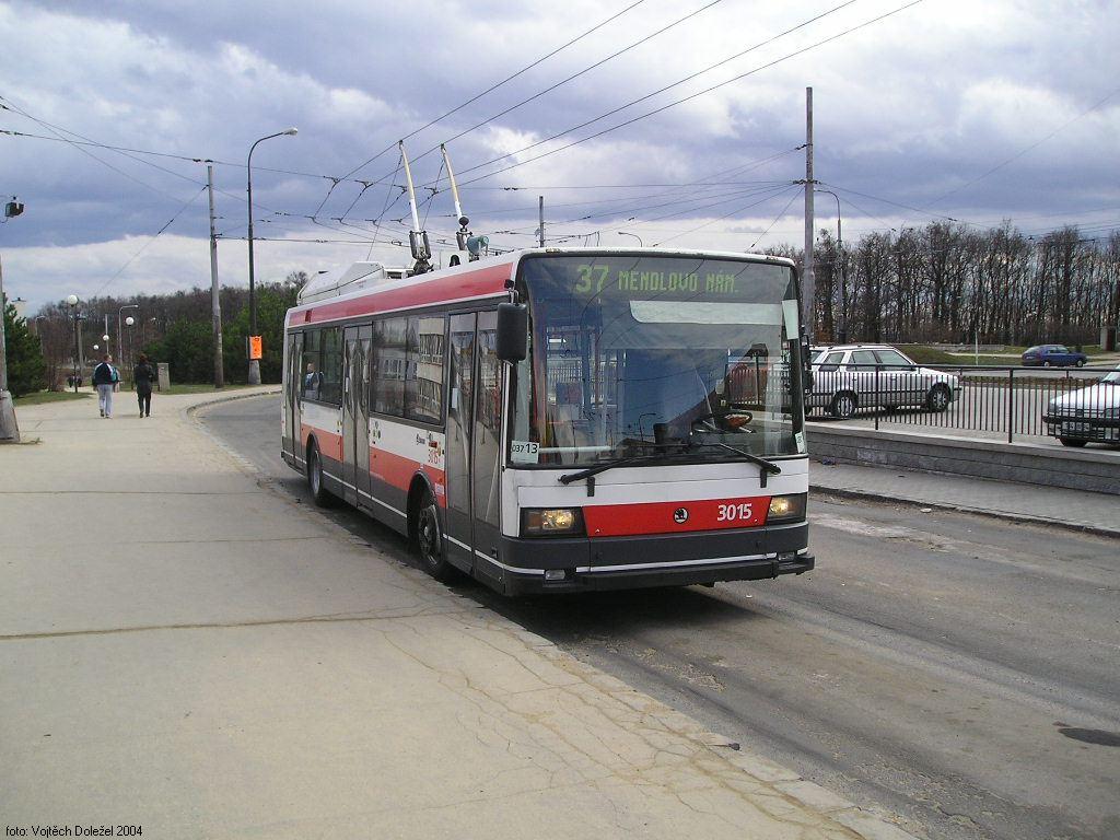 Fotogalerie » Škoda 21Tr 3015 | Brno | Kohoutovice | Jírovcova