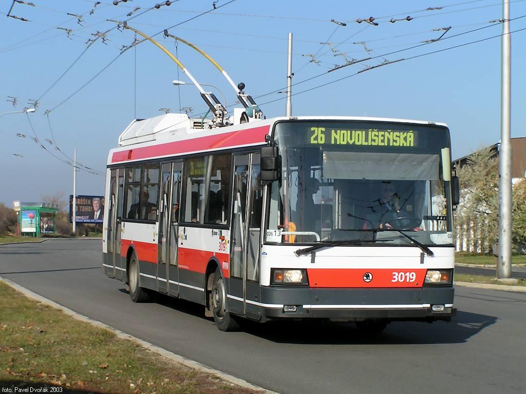 Fotogalerie » Škoda 21Tr 3019 | Brno | Vinohrady | Věstonická