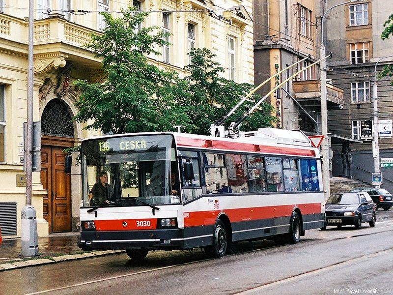 Fotogalerie » Škoda 21Tr 3030 | Brno | Kounicova