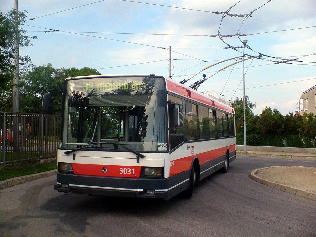 Fotogalerie » Škoda 21Tr 3031   Brno   Masarykova čtvrť   Barvičova   Barvičova