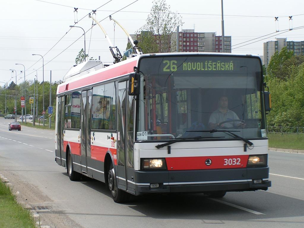 Fotogalerie » Škoda 21Tr 3032 | Brno | Líšeň | Novolíšeňská